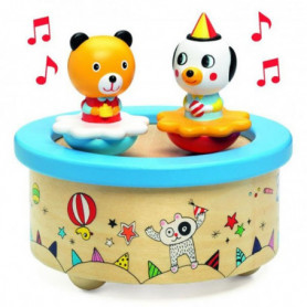 Set candeline Happy Birthday azzurre 10 pz