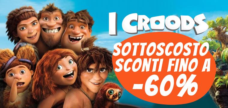 I Croods, tutti i peluche a 5,9 €!