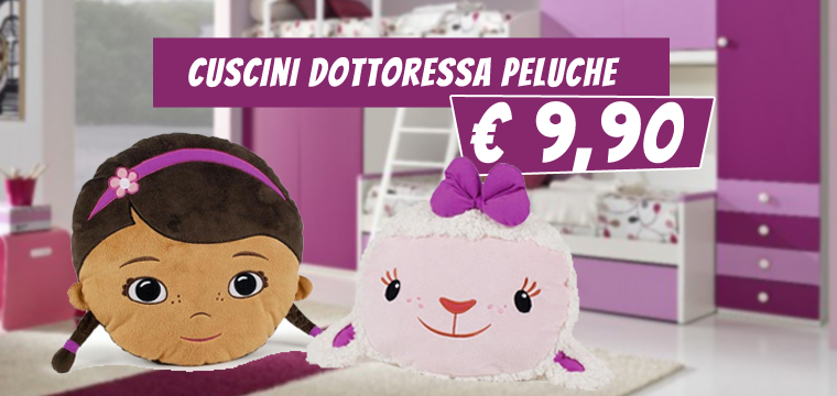 Supersconto sui cuscini di Dottie e Bianchina!