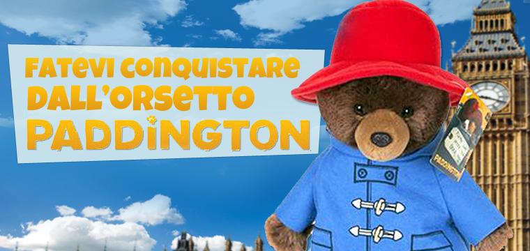 E' arrivato il peluche dell'orsetto Paddington!
