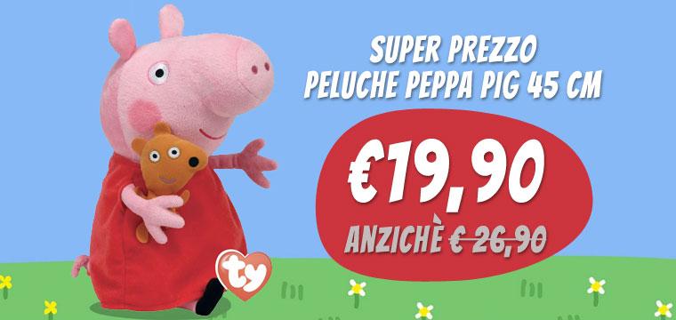 Il nostro peluche di Peppa Pig a un prezzo clamoroso!