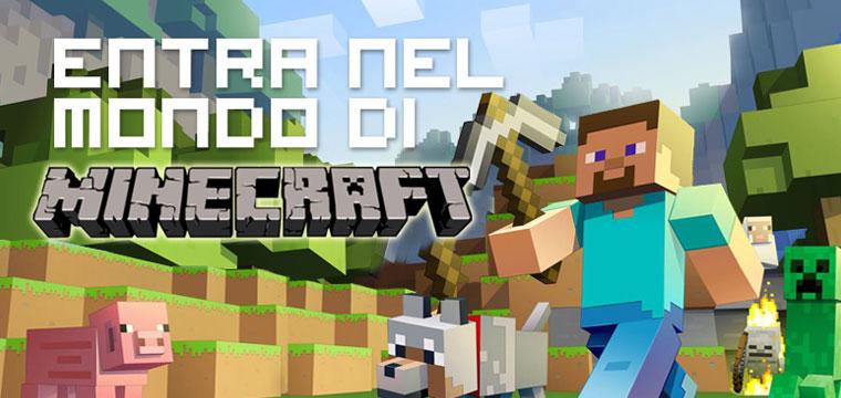 Minecraft, tanti gadget per un divertimento non solo virtuale