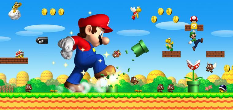 Super Mario Bros arriva anche su Smartphone e App