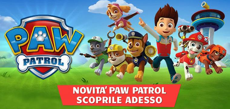 Paw Patrol: arrivano i giocattoli di Ryder e i suoi cuccioli