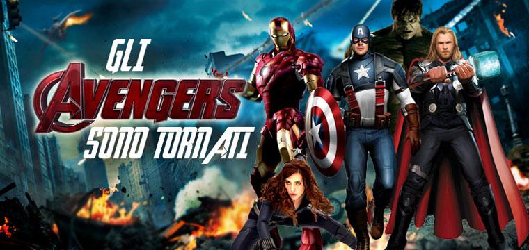 I mitici Avengers sono tornati