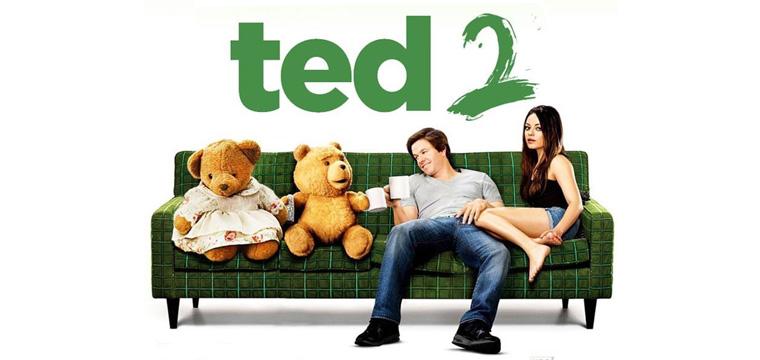 Arriva il peluche originale parlante Ted 2