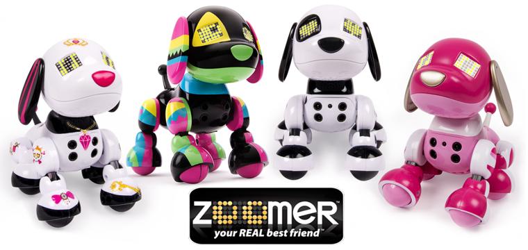 Coccoloni e interattivi: adotta un cagnolino robot Zoomer!