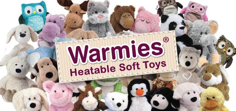Addio al freddo invernale con i peluche Warmies