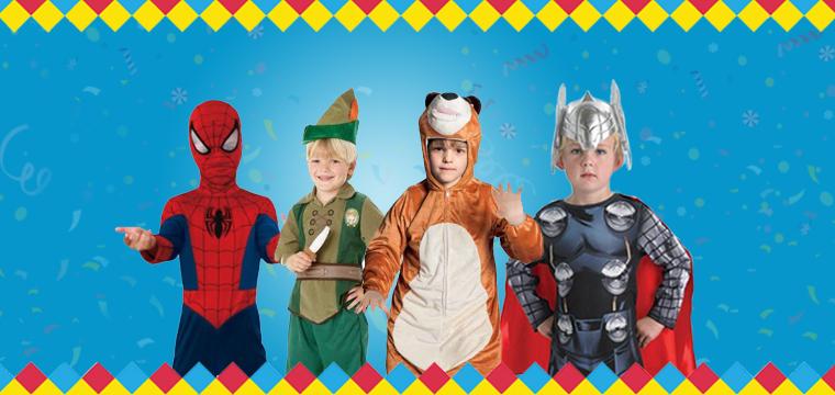 Carnevale 2016: i migliori costumi per bambini