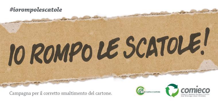 #IoRompoLeScatole!: il concorso più irriverente dell'anno