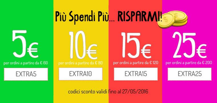 Più spendi, più risparmi!!