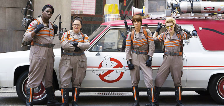 Tornano i Ghostbusters. Ecco i nuovi peluche da collezione.