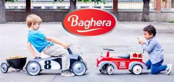 Macchine a pedali: scegli lo stile vintage del marchio Baghera!