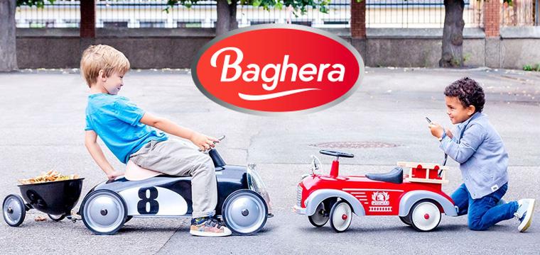 Macchina a pedali per bambini, lo stile vintage di Baghera