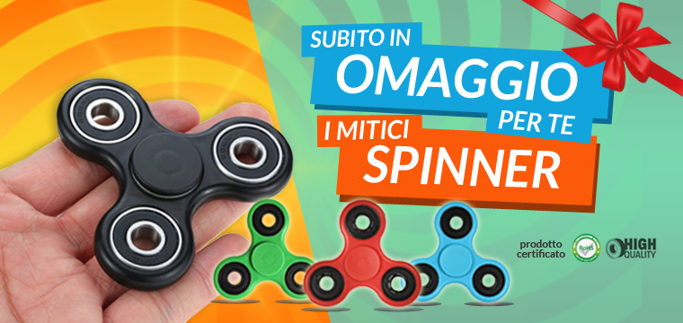 Fidget Spinner mania: l'antistress dell'estate in omaggio su Jocando