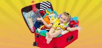 Come scegliere e preparare la valigia per i bambini