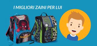 Zaini Scuola 2017/18: i più richiesti da bambini e ragazzi