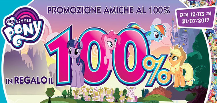 My Little Pony ti rimborsa fino al 100%
