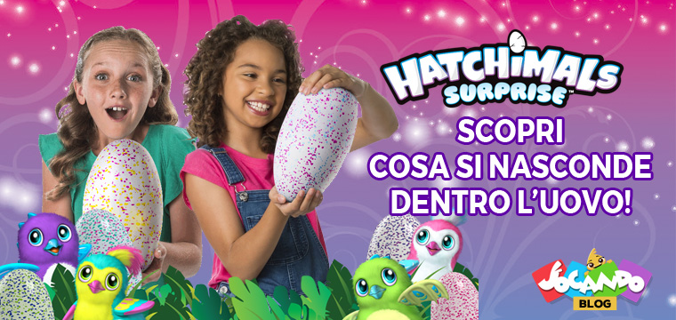 Hatchimals Surprise: l'uovo interattivo con ben due animaletti elettronici