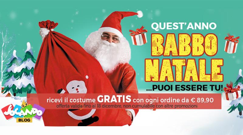 Ricevi in Omaggio il costume e trasformati in Babbo Natale!