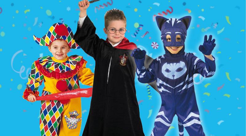 Carnevale 2019, i migliori costumi per bambini