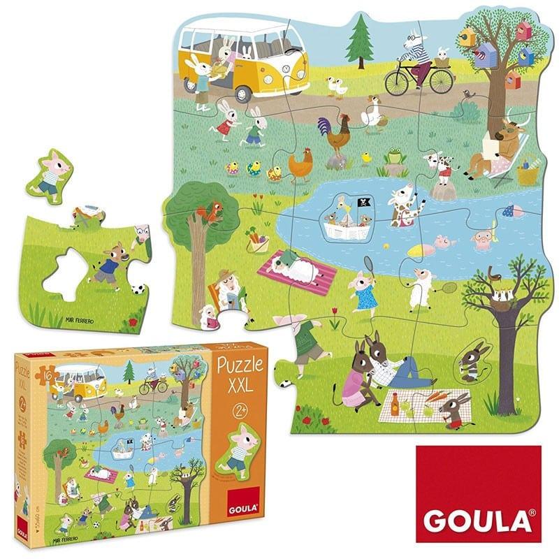 Puzzle XXL Una giornata in campagna