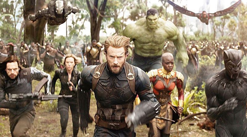 Cresce l'attesa per Avengers Infinity War in uscita ad aprile