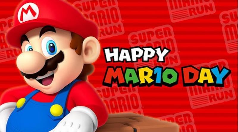 10 Marzo si festeggia il Super Mario Day!
