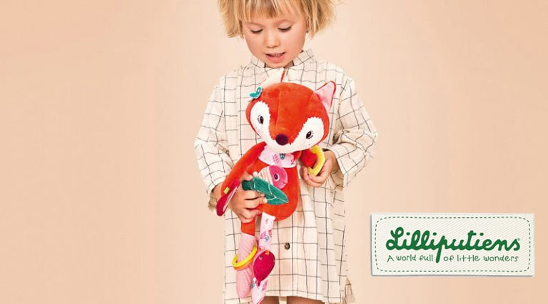 Lilliputiens, i giocattoli per neonati che piacciono anche ai genitori