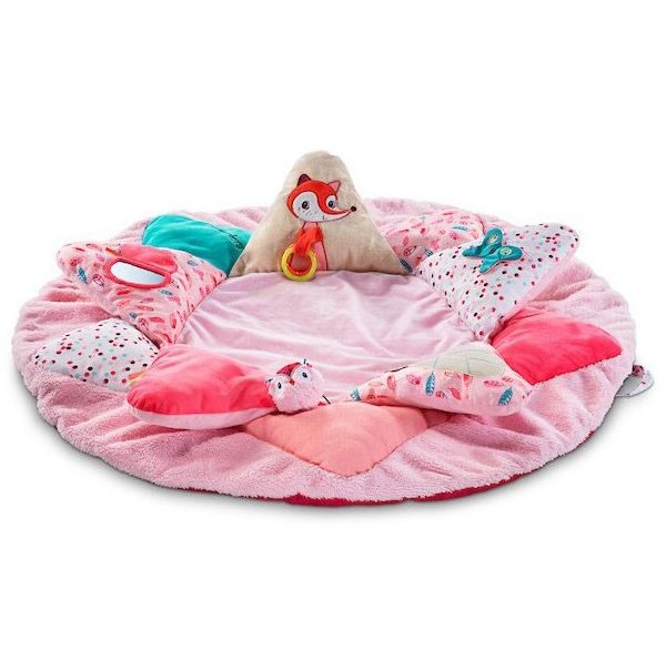 Tappeto Multi Attività per Bambina Louise rosa Lilliputiens