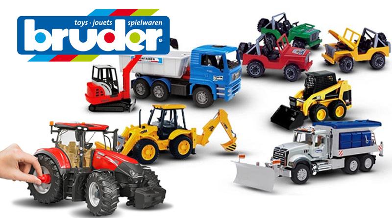 Giocattoli Bruder | Camion, trattori, ruspe come nella realtà