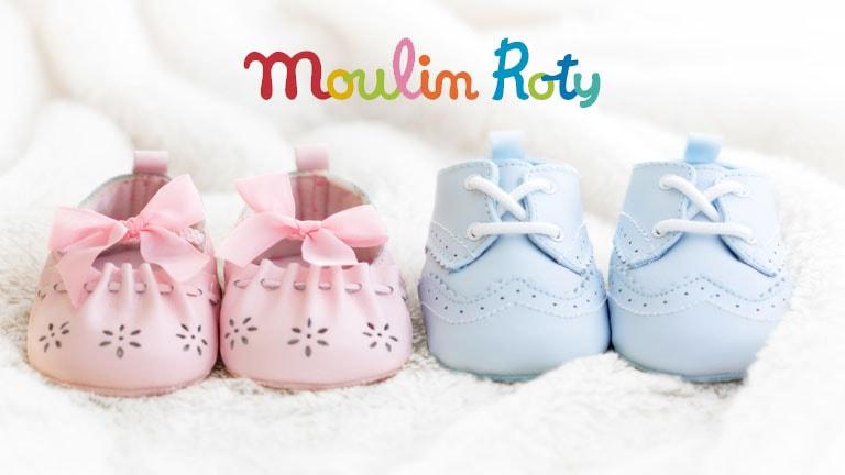 Regali nascita, lasciati ispirare dai giocattoli per neonati Moulin Roty