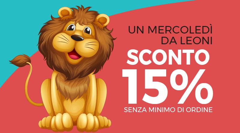 Un mercoledì da leoni | Codice sconto 15% su tantissimi giocattoli