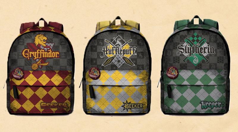 A scuola di magia con gli zaini di Harry Potter
