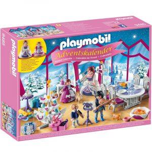 Calendario Avvento Playmobil ballo di Natale nel salone di cristallo