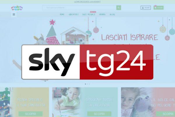 Sky TG 24 sceglie Jocando tra i migliori siti di giocattoli per i regali di Natale