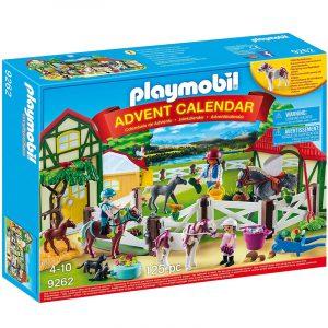 Calendario dell'Avvento Playmobil Una giornata al maneggio