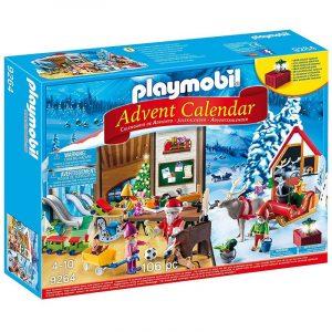 Calendario dell'Avvento Playmobil 9264 Laboratorio di Babbo Natale