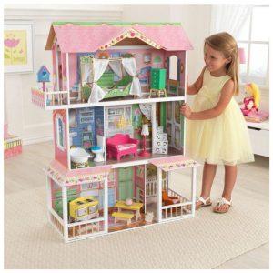 KidKraft Casa delle Bambole Villa Magnolia in Legno - 65907