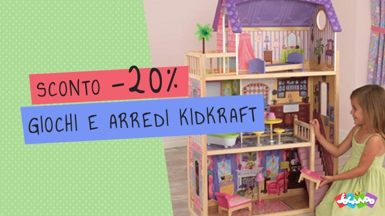 Promozione giochi e arredi in legno KidKraft