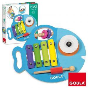 Xilofono per bambini Goula 3 in 1