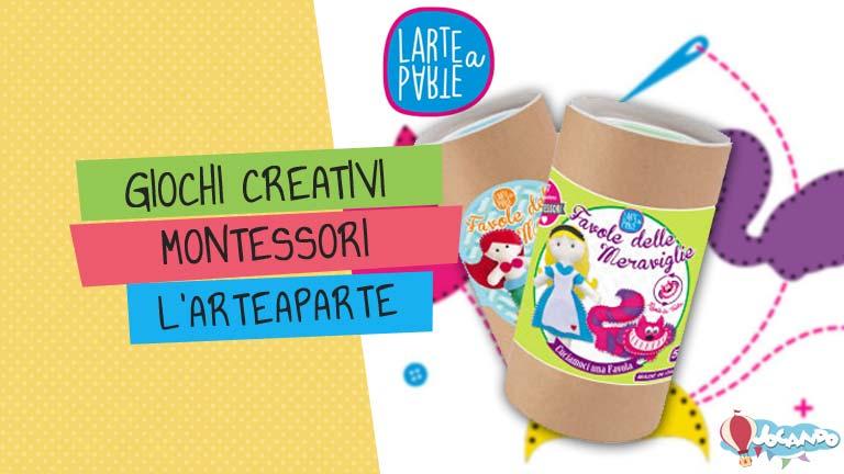 Giochi Creativi Montessori: divertiti con i set cucito Larteaparte