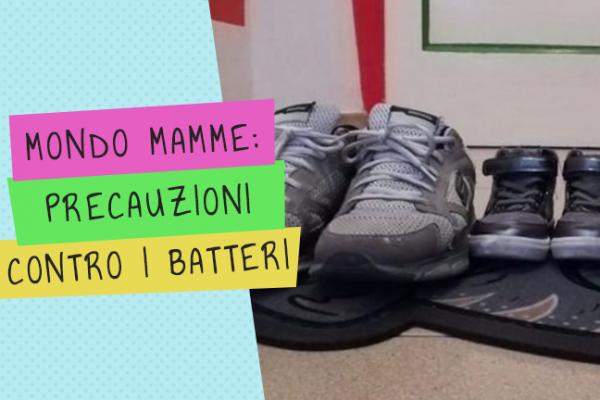 Mondo Mamme: Togliere le scarpe in casa tiene fuori 400mila batteri